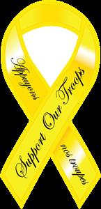 145x300 Yellow Ribbon Logo Vector (.eps) Free Download