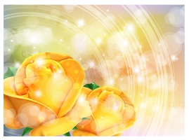 269x200 Yellow Roses Free Vector Graphic Art Free Download (Found 5,380