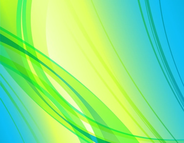 600x466 Abstract Green Blue Yellow Background Vector Graphic Free Vector