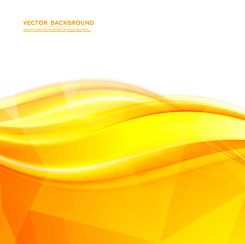 500x498 Yellow Abstract Background Vectors 03 Free Download