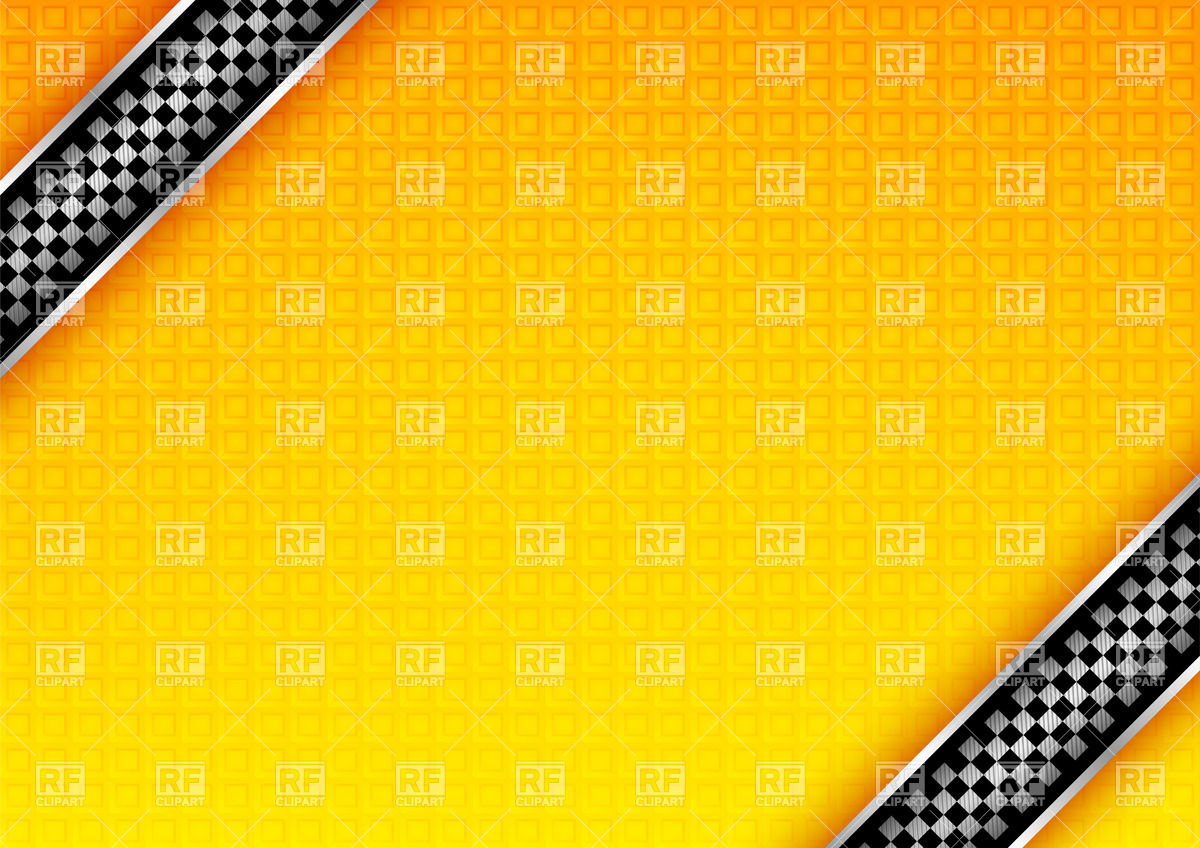 1200x848 Yellow Textured Taxi Background With Chequered Pattern Vector