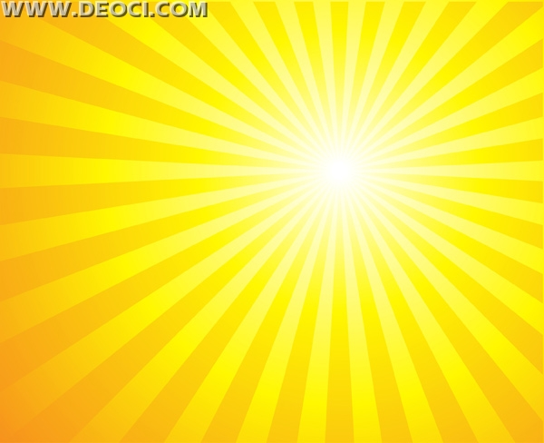 600x488 Vector Yellow Light Radiation Ray Beam Background Illustration Of
