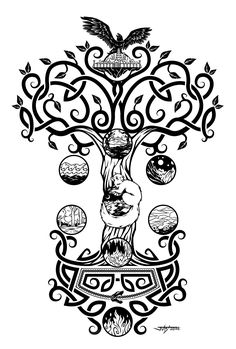 236x349 30 Best Yggdrasil Tattoo Images Yggdrasil Tattoo