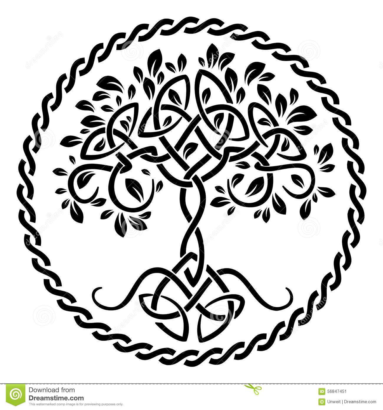 1300x1390 Tree Of Life Stock Vector