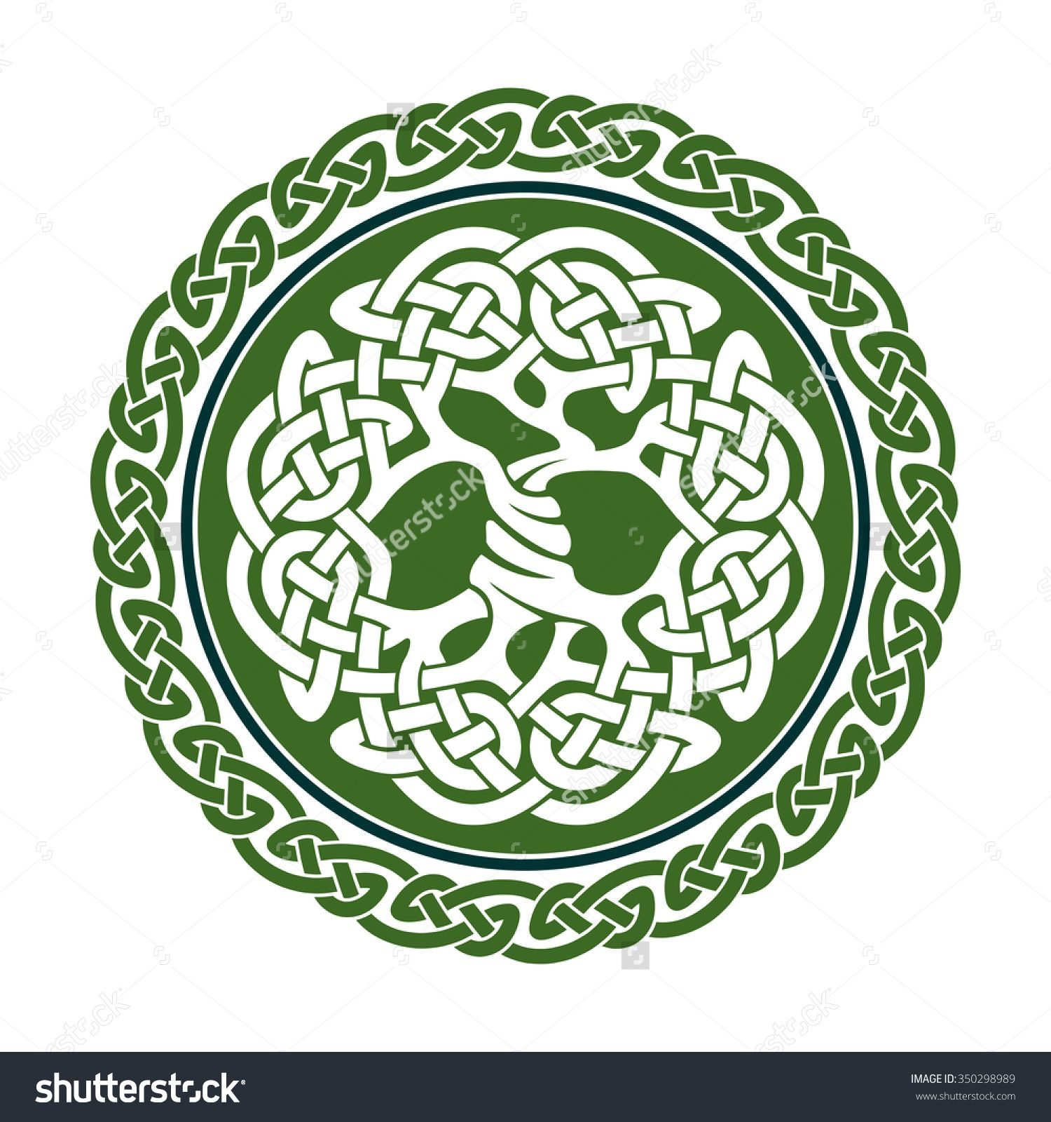 1500x1600 Vector Illustration Of Celtic Tree Of Life, Famous Tree Yggdrasil