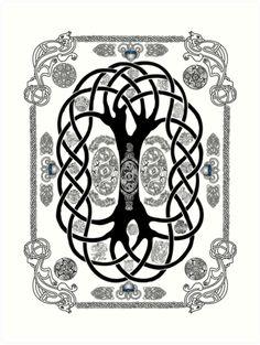 236x313 Yggdrasil. Scandinavian Design. The Tree Yggdrasil In Nordic