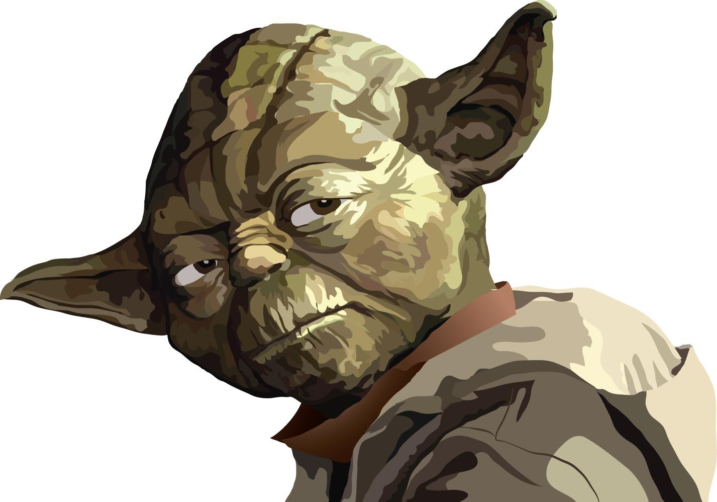 1427x998 Vector Portrait Yoda Sketchbook Of Nick Burger