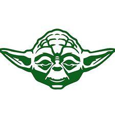 225x225 Yoda Car Window Decal Star Wars Jedi Ebay