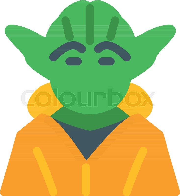 734x800 Master Yoda