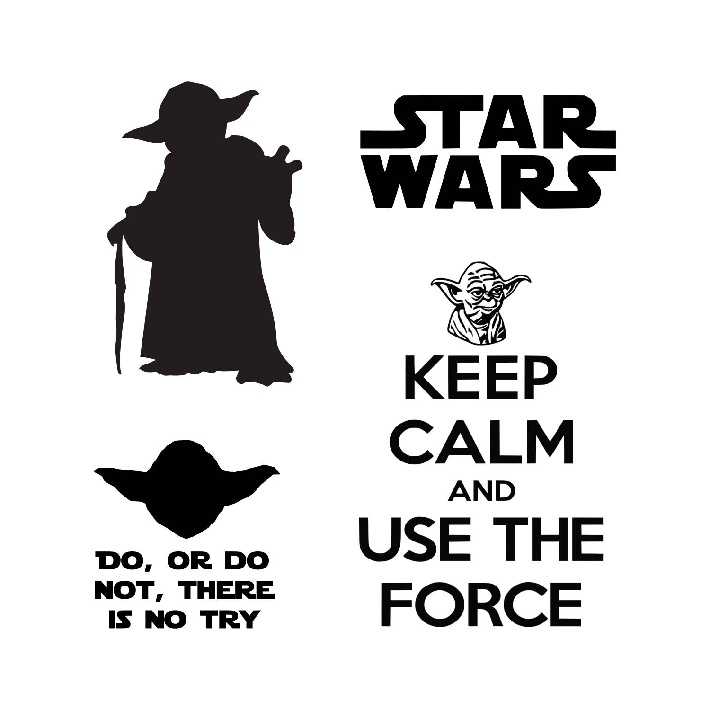 1500x1500 Star Wars Svg Master Yoda Svg Svg Dxf Png Vector Cut File Etsy