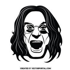 236x236 Yoda Vector Portrait. Celebrity Vector Illustrations
