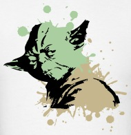 190x196 Cool Star Wars Yoda Art By Funny Vector Spreadshirt