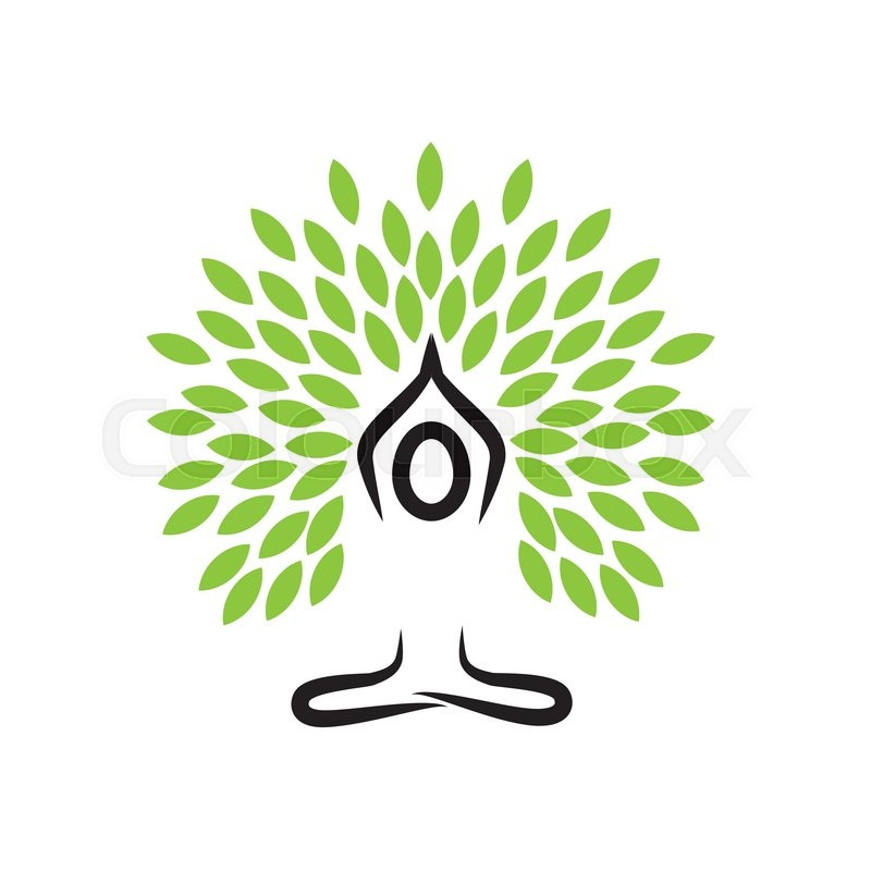 800x800 People Life Tree Doing Meditation, Yoga And Prayers