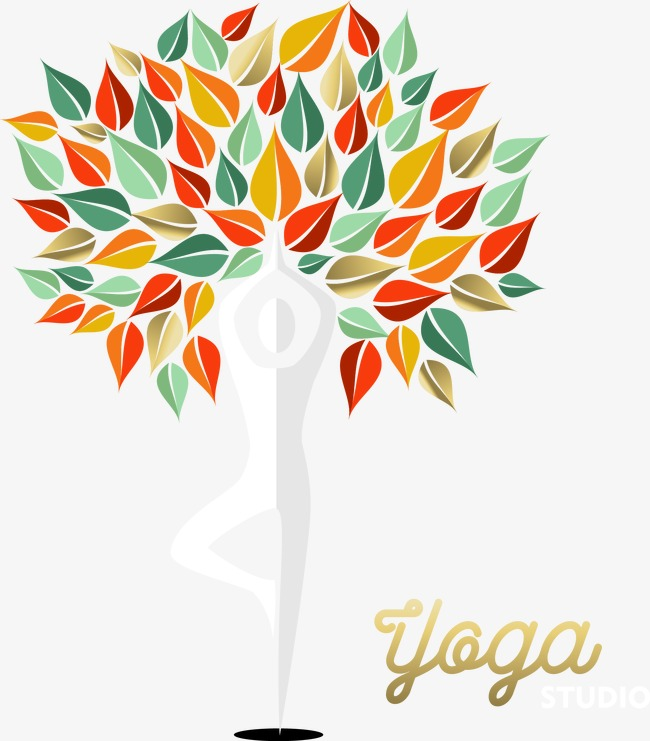 650x741 Sport Yoga Symbol, Yoga, Stance, Colorful Tree Png And Vector For