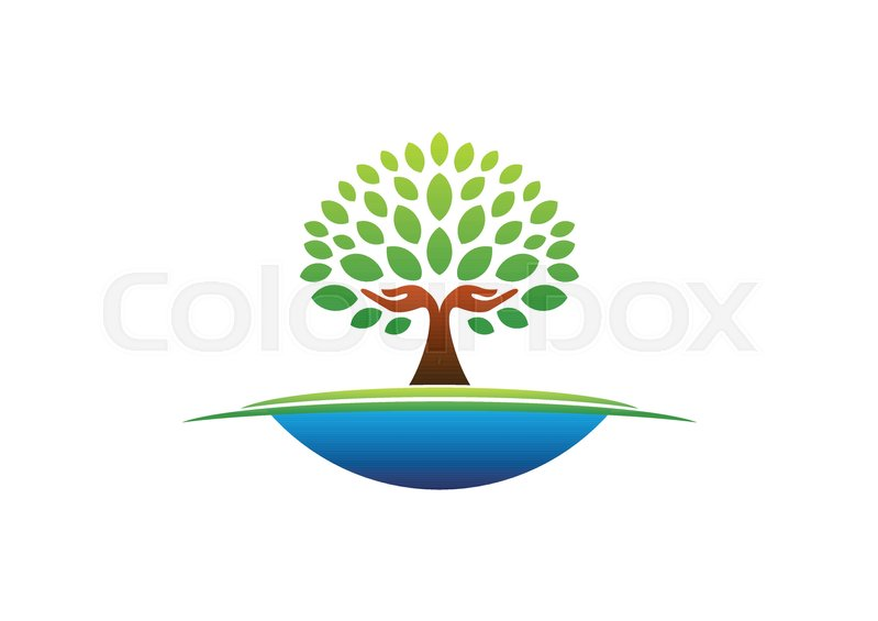 799x565 Tree Hand Logo, Natural Hands Tree Wellness Icon Concept, Yoga