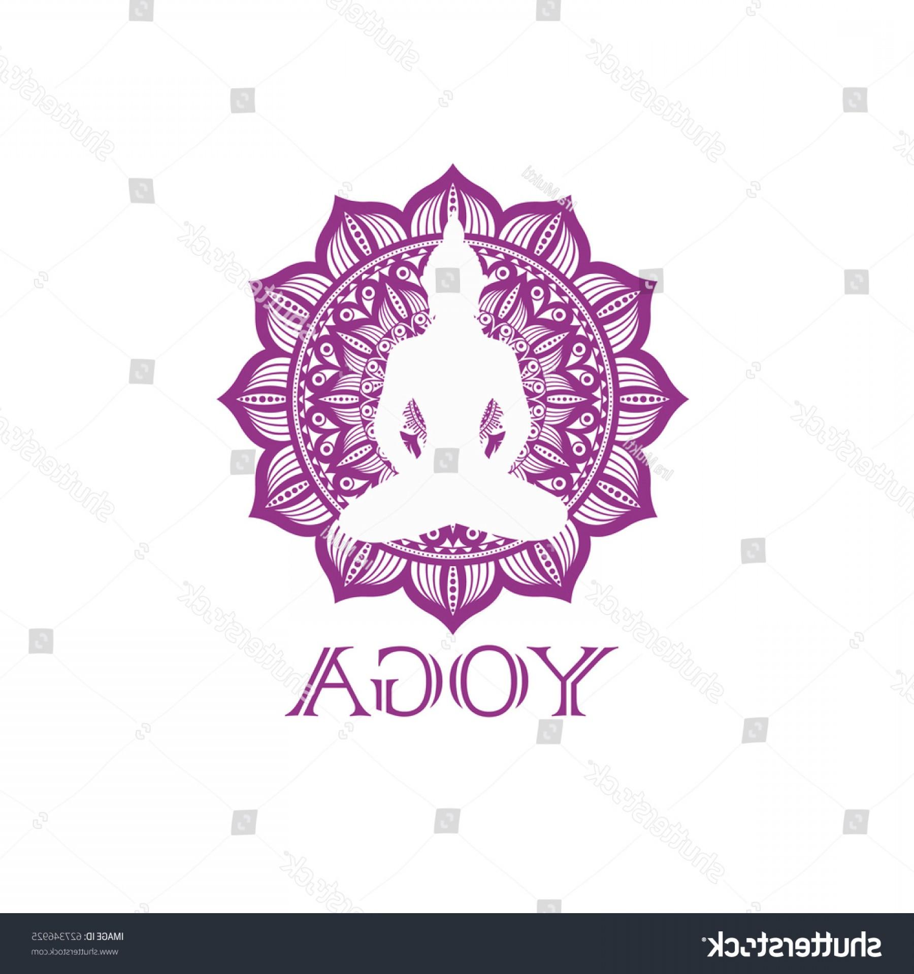 1800x1920 Yoga Symbol Mandala Buddha Logo Vector Lazttweet