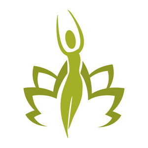 300x300 Yoga Symbols Royalty Free Vectors