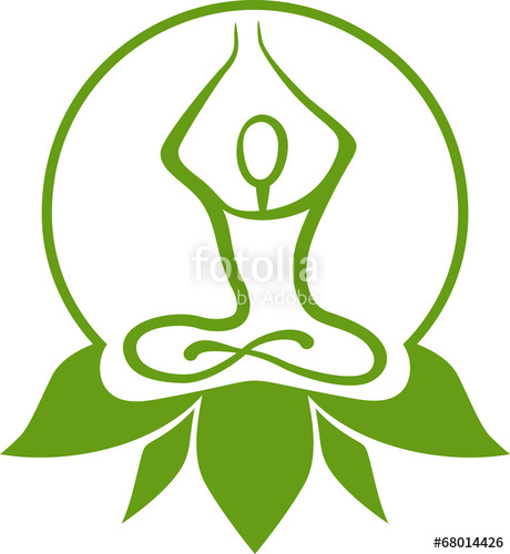 460x500 Green Yoga Symbol Stock Image And Royalty Free Vector Files On