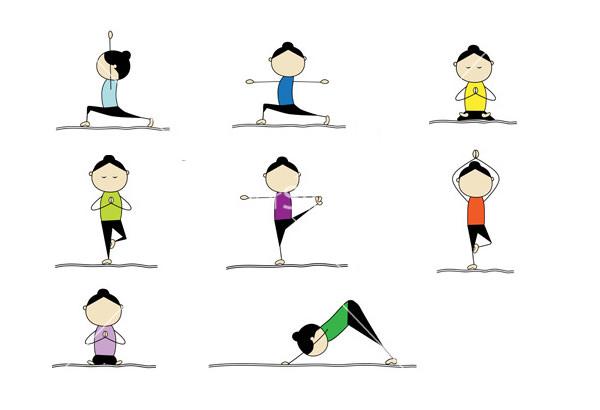 600x410 Best Premium Yoga Position Vectors For Download Free