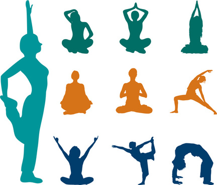 432x368 Yoga Vector Free Commercial Use