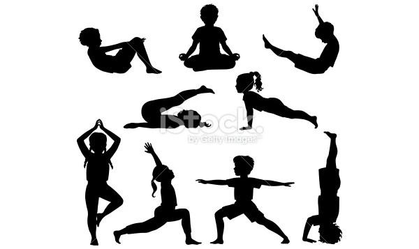 600x357 Best Premium Yoga Position Vectors For Download Free