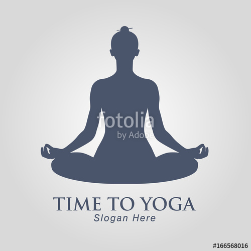 500x500 Yoga Vector Stock Image And Royalty Free Vector Files On Fotolia