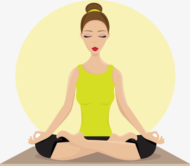 650x569 Vector Yoga, Yoga, Vector, Lose Weight Png And Vector For Free