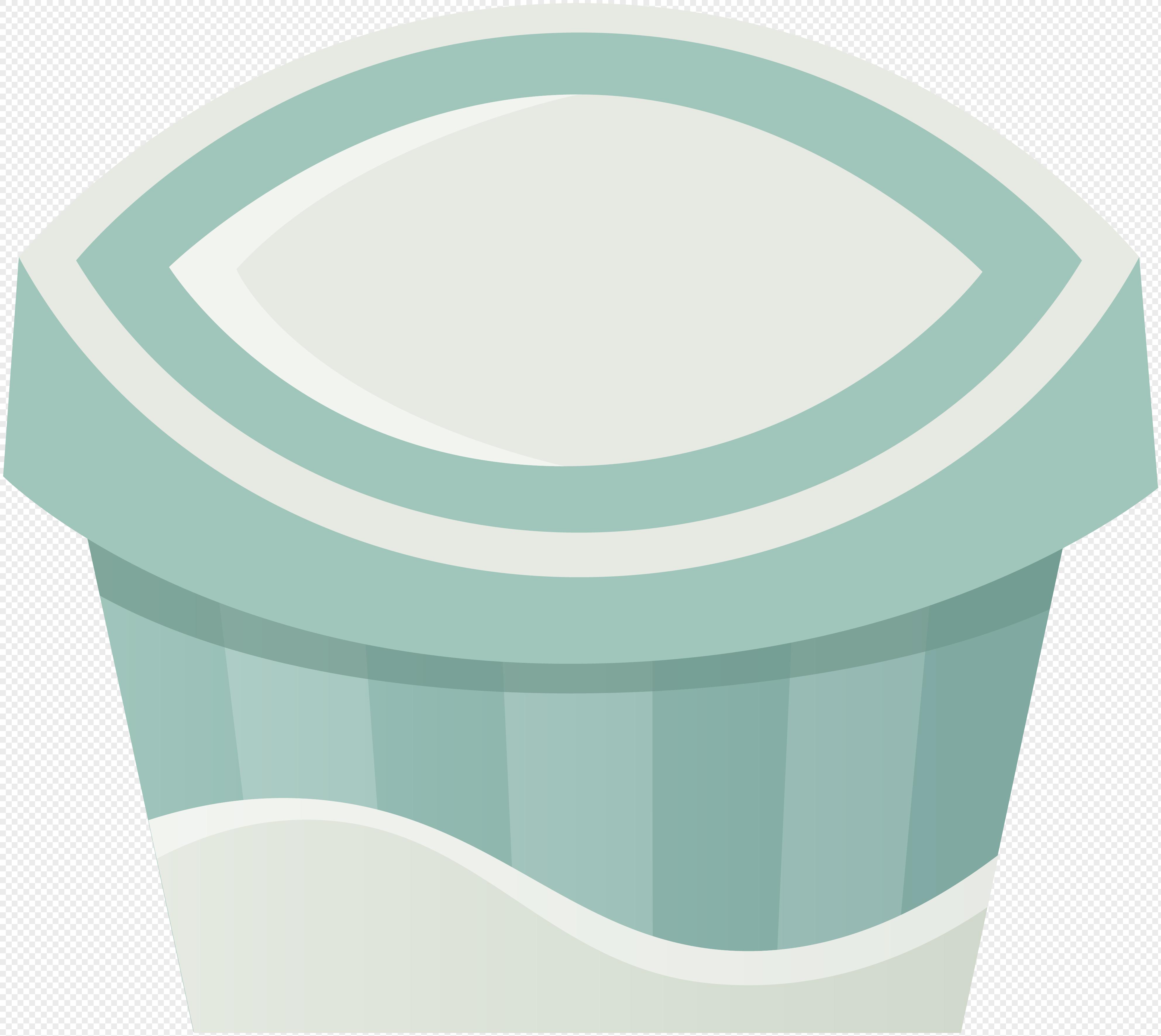 3970x3543 Hand Painted Cartoon Food Beverage Yogurt Vector Elements Png