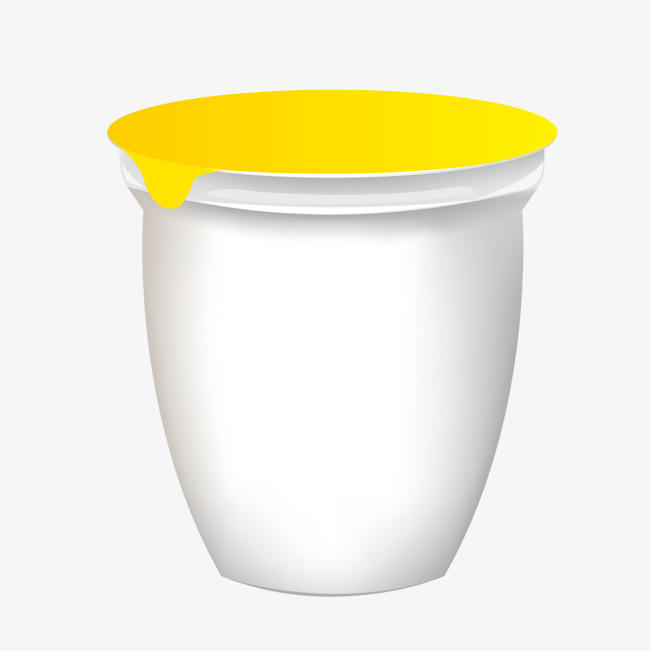 650x651 Vector Gray Bowl Yogurt Packaging Design Template, Yogurt, Bowls
