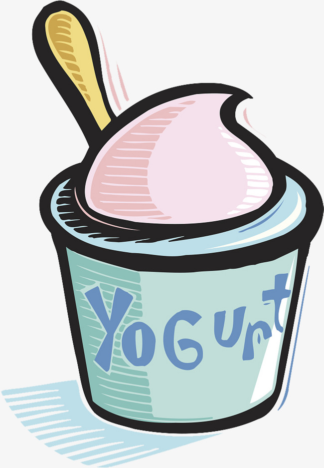 650x937 A Cup Of Yogurt, Cup Clipart, Spoon, Yogurt Vector Png Image And