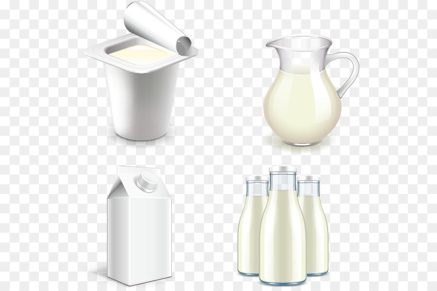900x600 Download Soured Milk Milk Bottle Yogurt Vector Milk