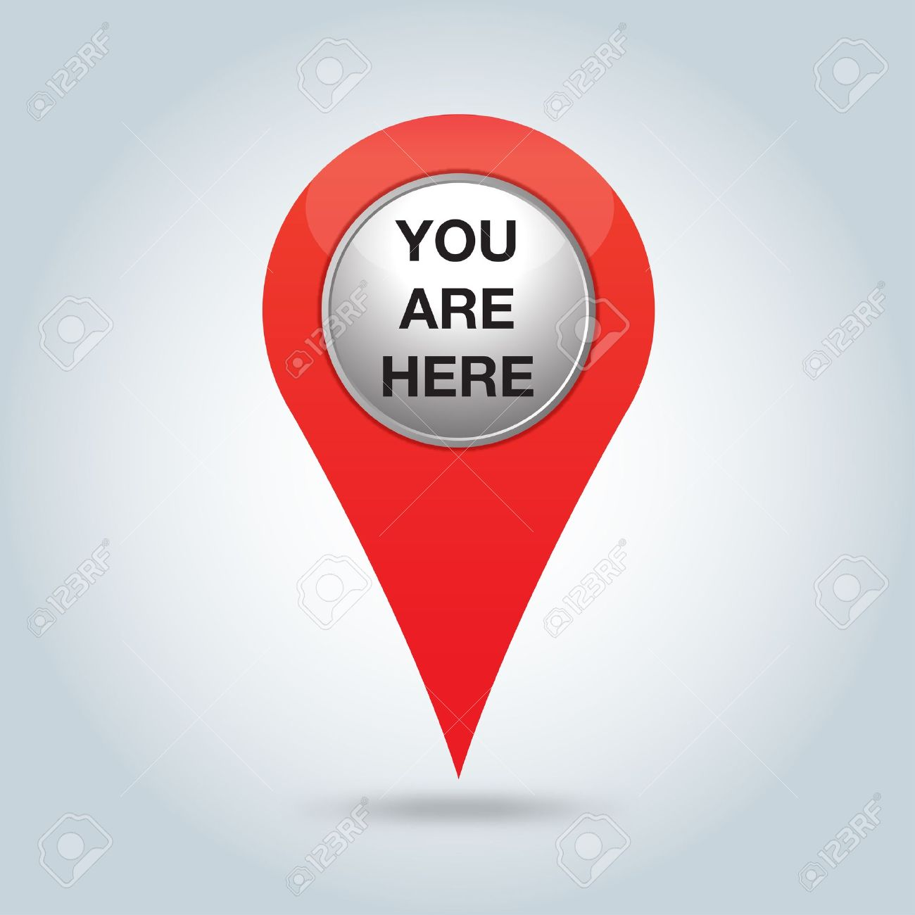 You Are Here Vector