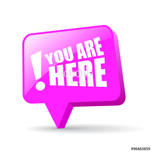 500x500 You Are Here Map Pointer Stock Image And Royalty Free Vector