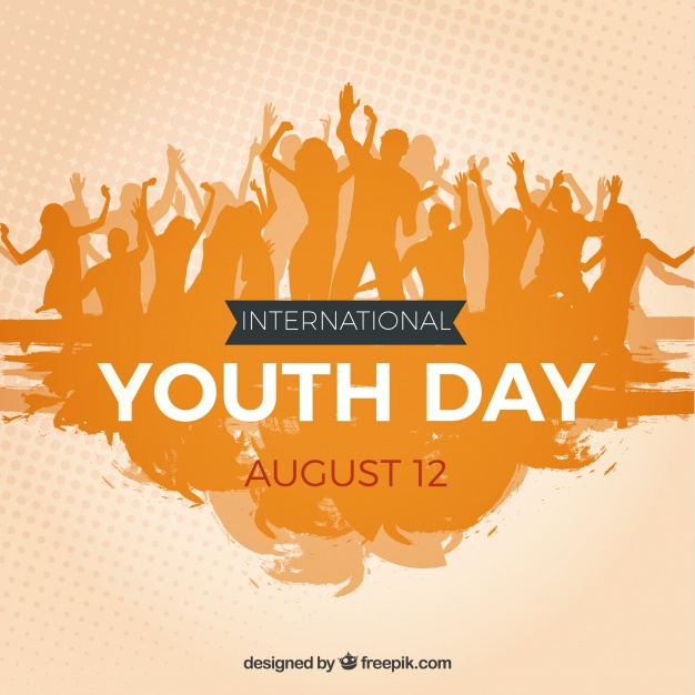 626x626 Youth Crowd Background Vector Free Download