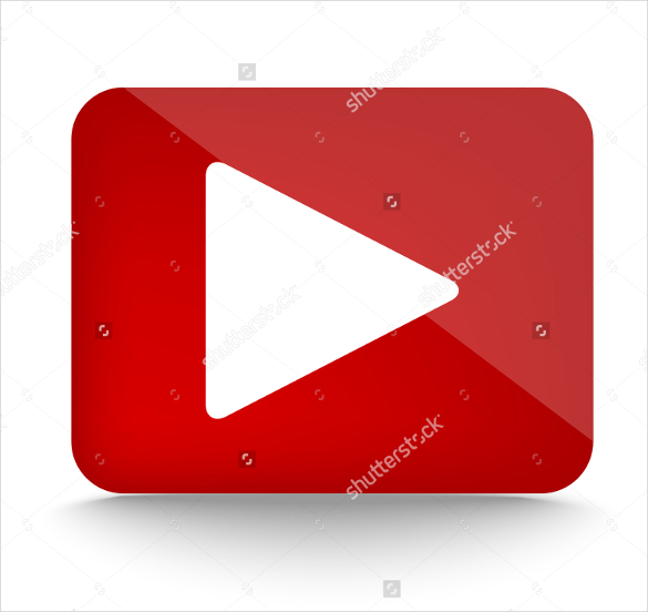 585x552 Youtube Icons Free Svg, Ai, Vector Eps Format Download