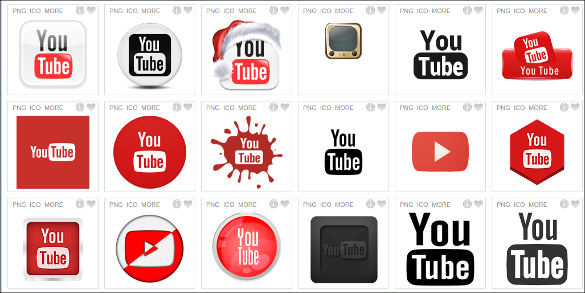 585x293 Youtube Icons Free Psd, Ai, Vector Eps Format Download Free