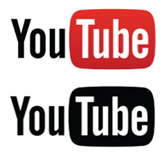240x223 Youtube Stacked Logo Vector