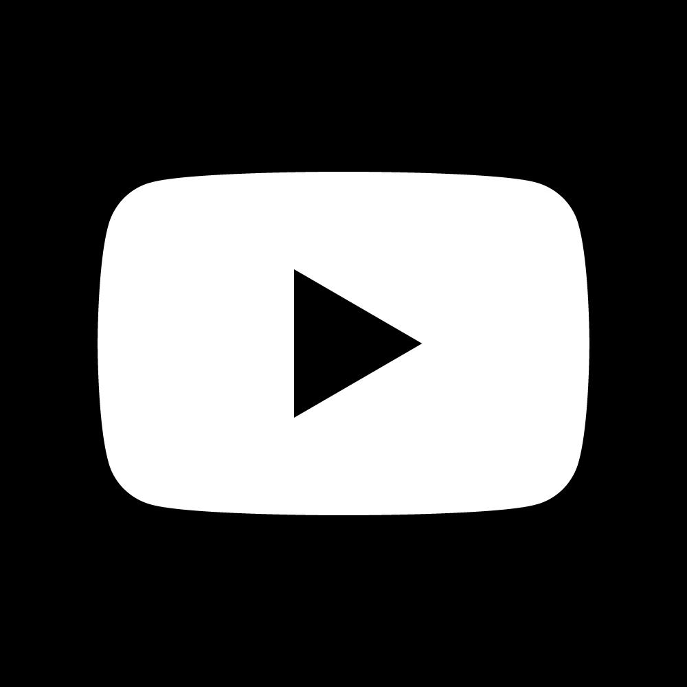 1000x1000 Youtube Dark Square