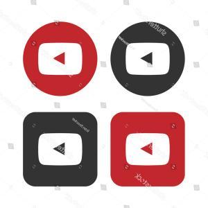 300x300 Red Play Youtube Logo Button Vector Sohadacouri