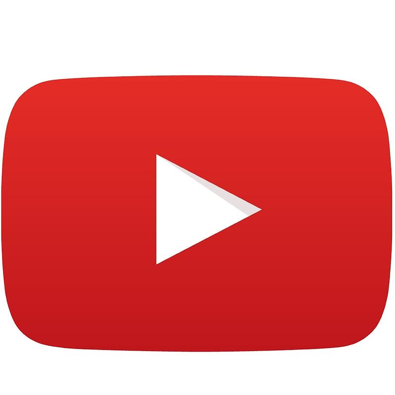 800x800 Youtube Button Vector