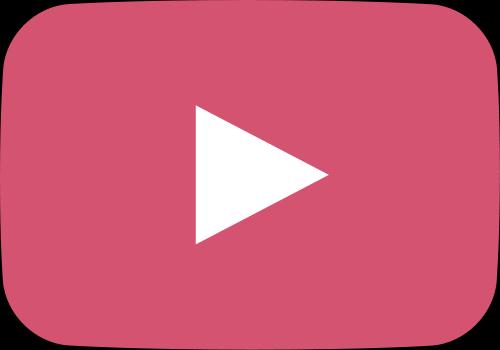 500x350 Light Pink Movie Play Button Vector Icon Svg(Vector)public