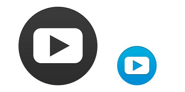 600x300 Youtube Vector Psd Psd Icons