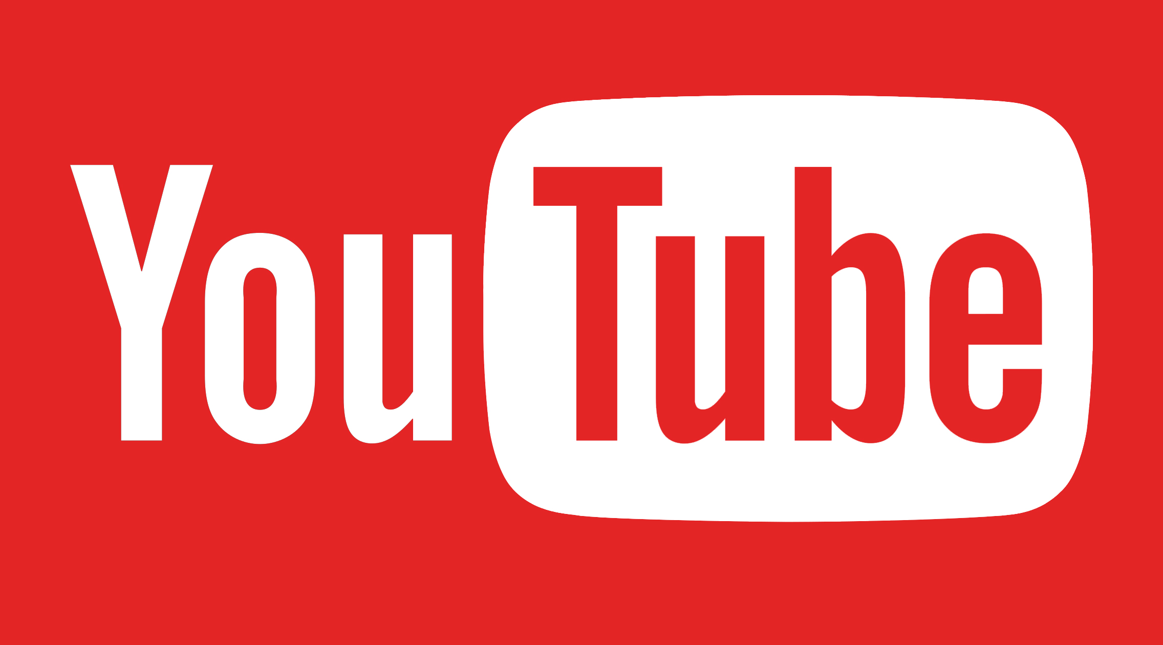 2272x1260 Youtube Logo Vector Png Free Download