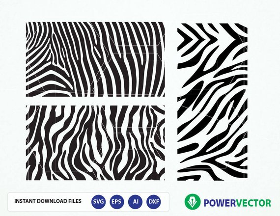 570x440 Zebra Pattern Svg. Animal Print Svg File. Zebra Stripes. Etsy