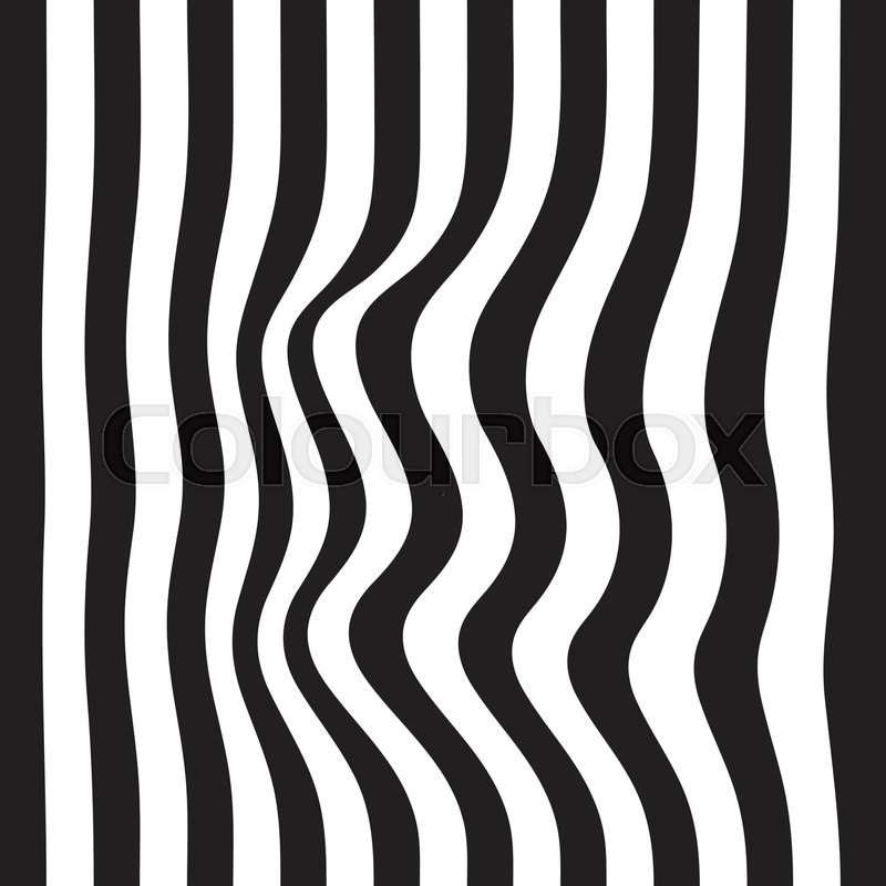 800x800 Striped Seamless Abstract Background. Black And White Zebra Print