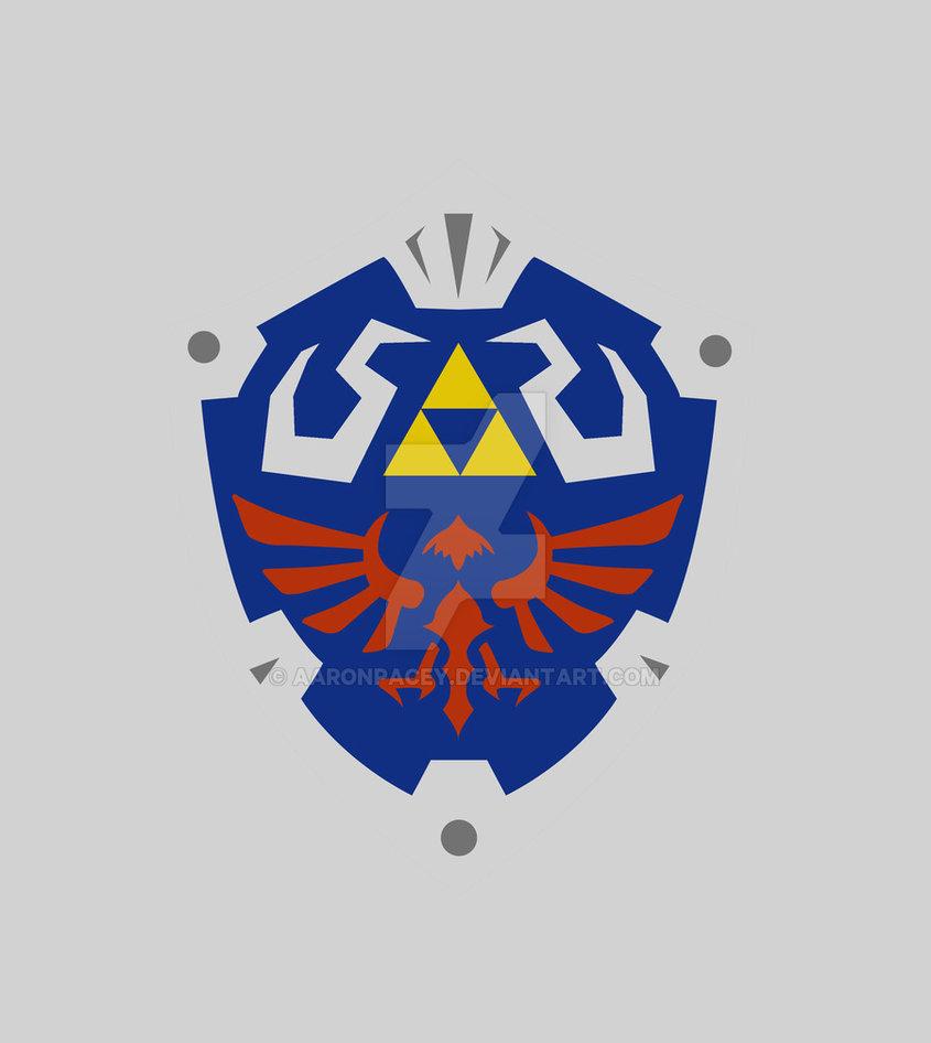 845x946 Shield Zelda Vector