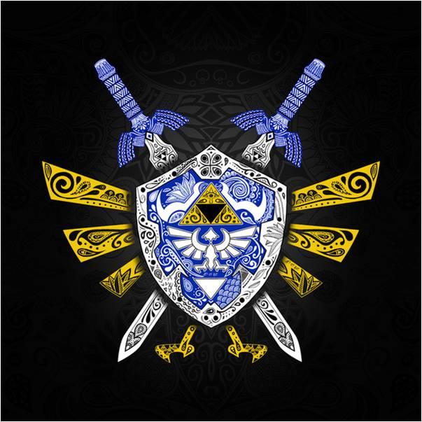 603x603 Shield Zelda Vector 1606059