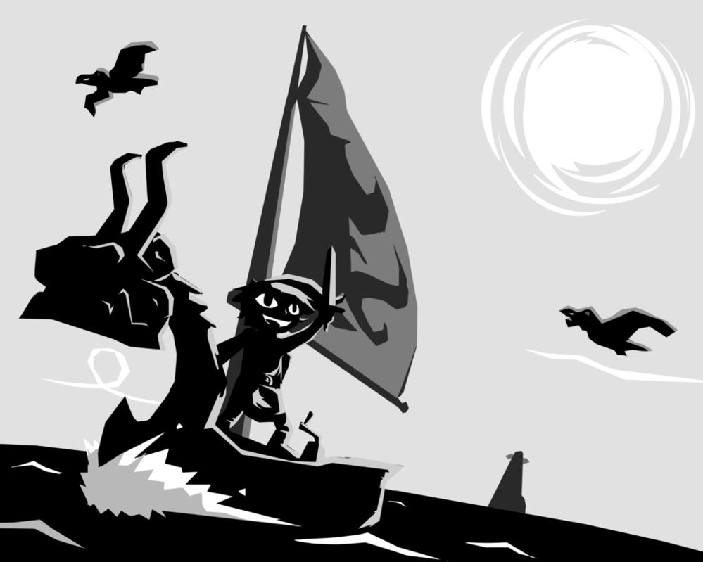 999x799 The Legend Of Zelda Wind Waker (Vector Fanart) By Romith On