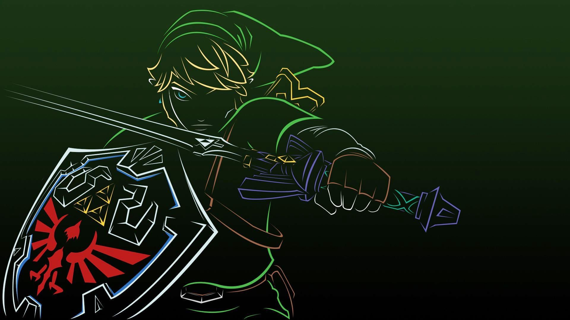 1920x1080 The Legend Of Zelda Vector