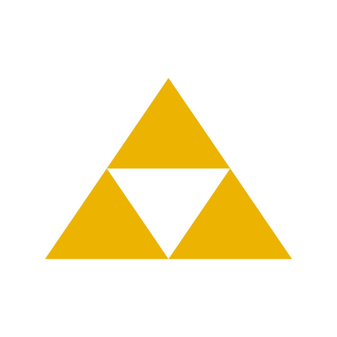 690x690 Legend Of Zelda Tri Force Graphics Design Svg By Vectordesign